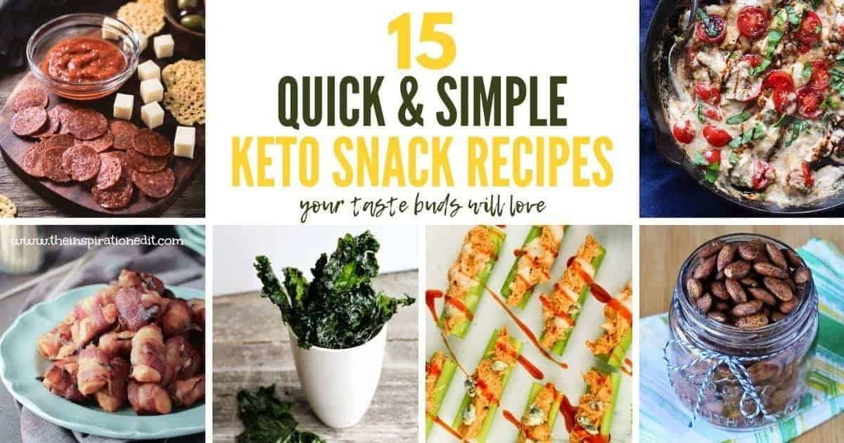15 Quick & Simple Keto Snack Recipes(2)