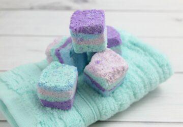 epsom salt essential oil cubes