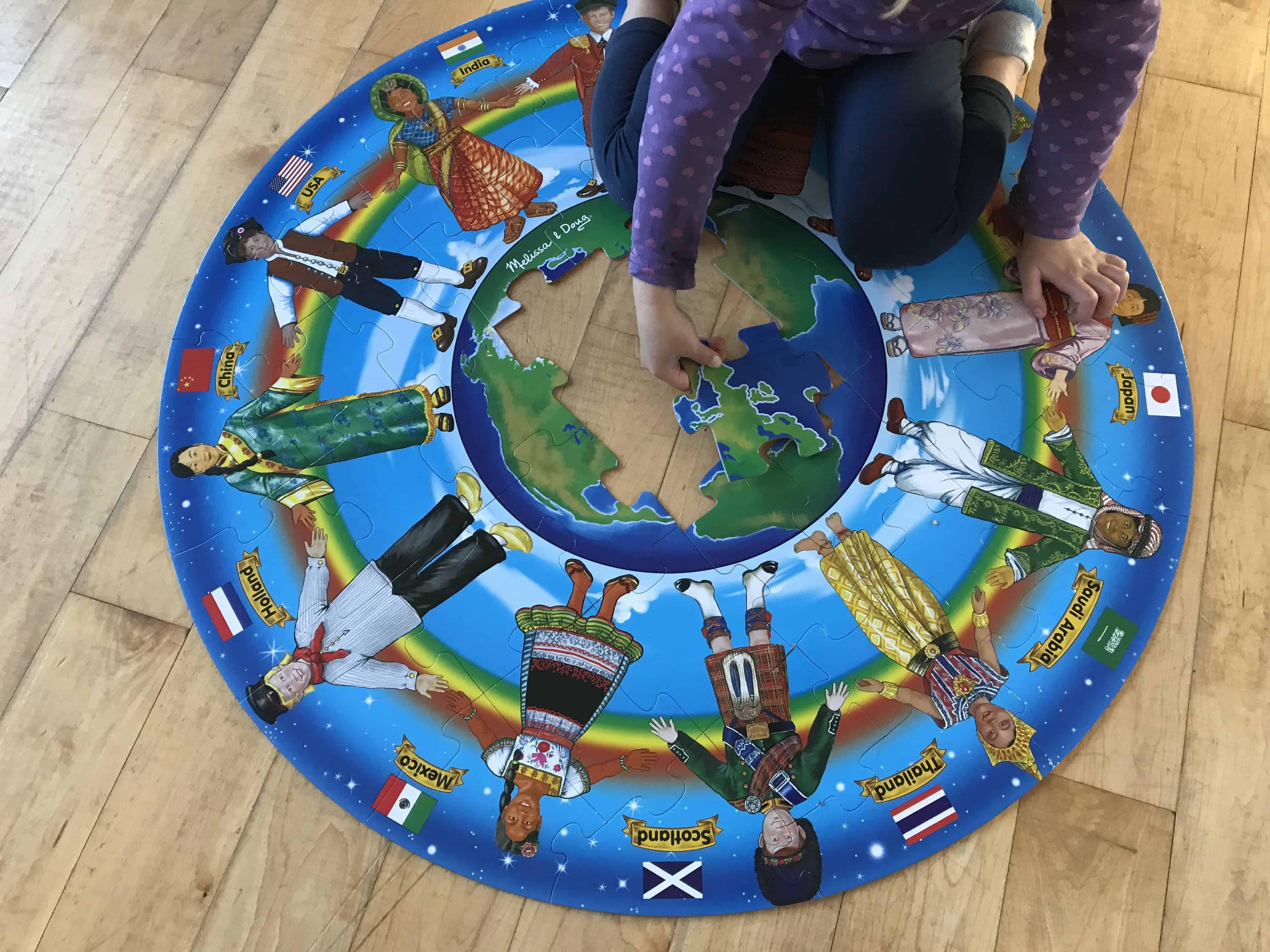 Children Around The World Floor Puzzle
