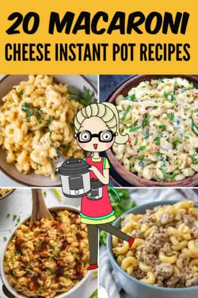MACARONI CHEESE INSTANT POT RECIPES