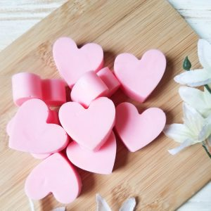valentines day soap tutorial