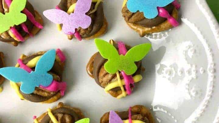 Pretzel Butterfly Party Treats