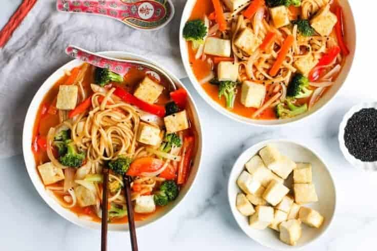 Instant Pot Coconut Curry Noodle Soup