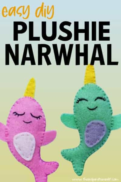 easy narwhal plushie