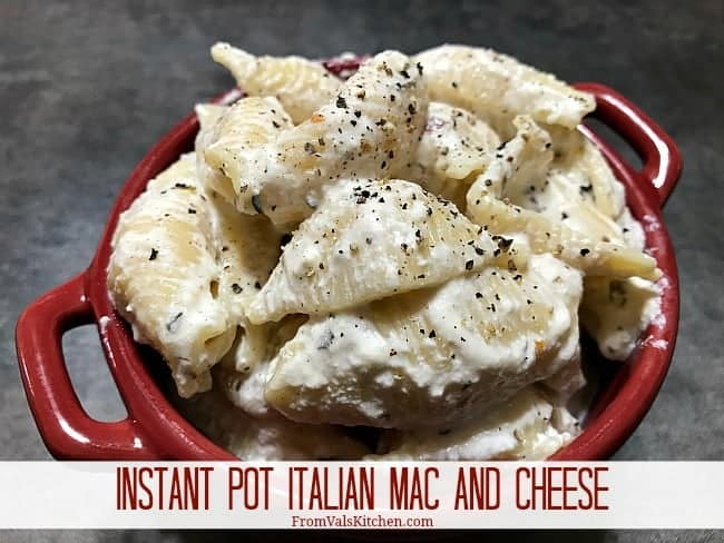 Instant Pot Italian Mac And Cheese Recipe