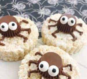 halloween spider party treats