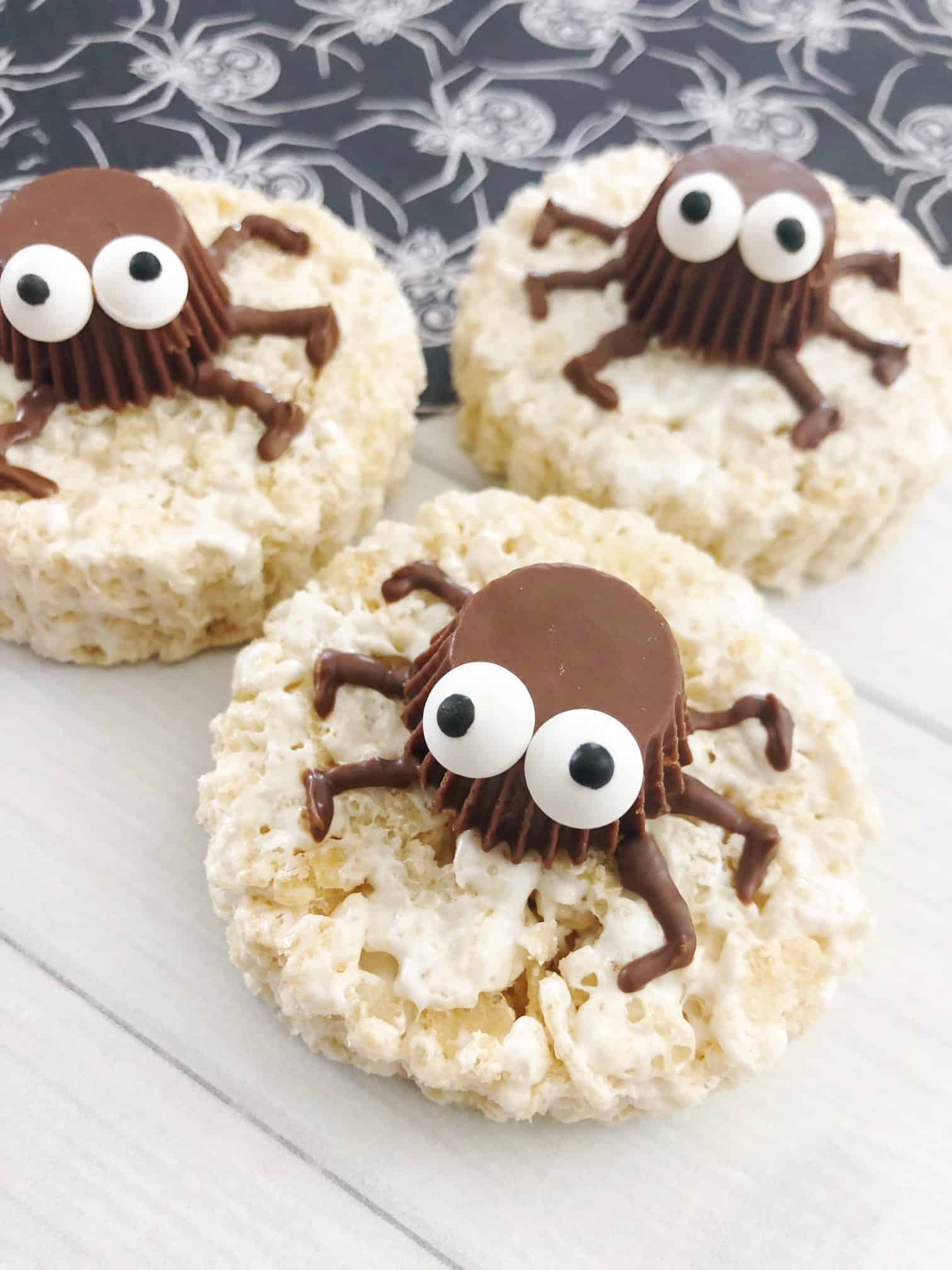Halloween Rice Krispies Treat
