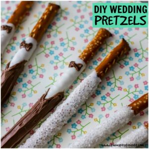 Wedding Pretzel Party Favors