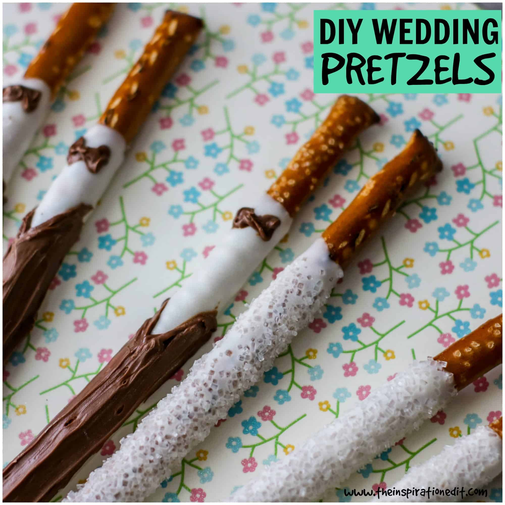 Fall Wedding Finger Foods: Wedding Pretzel Party Favors: Finger Food Ideas · The