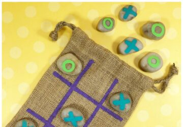 diy tic tac toe craft for kids
