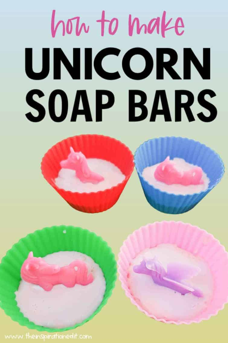 unicorn soap bars