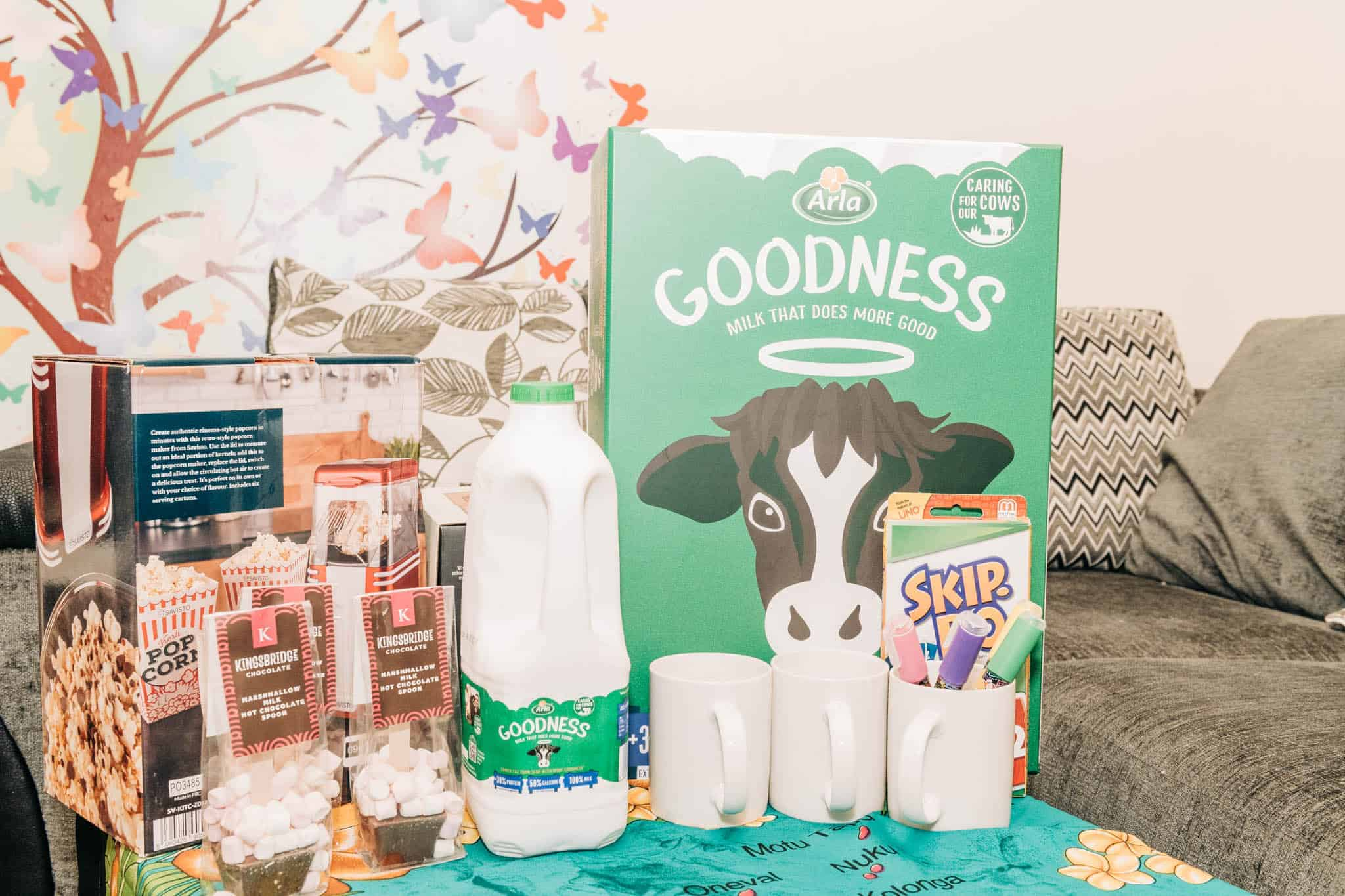 A Family night with Arla Goodness Milk