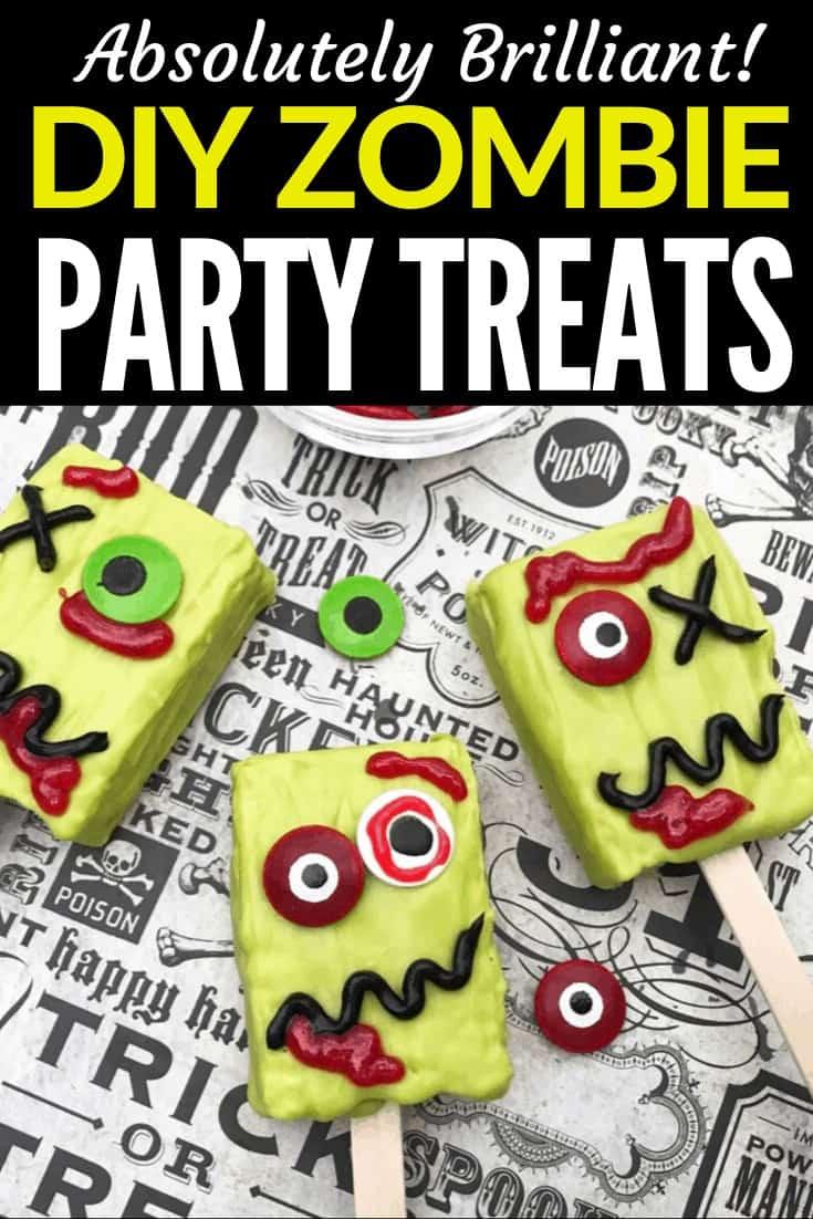 halloween zombie treats