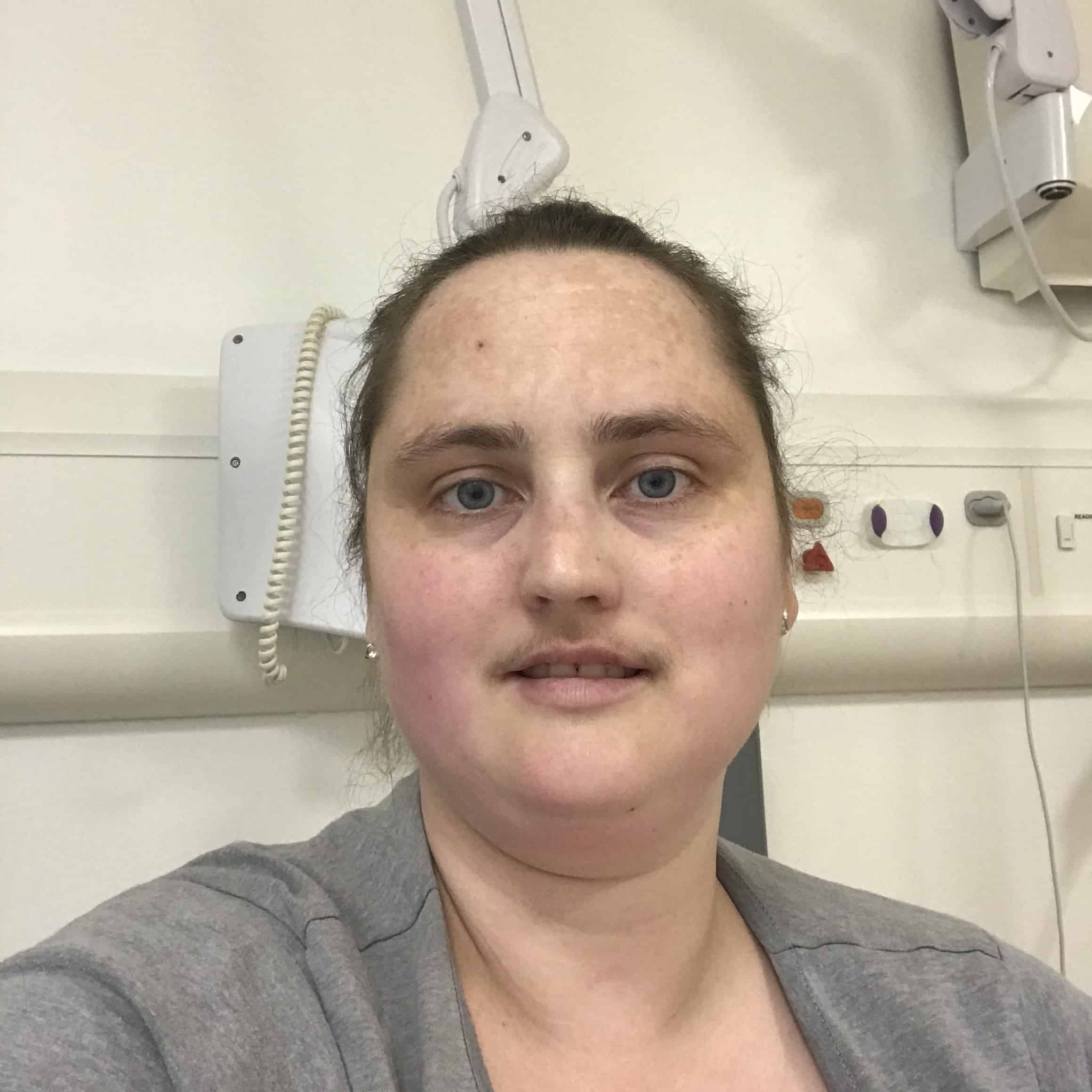 stuck in hospital