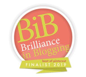bibs brilliance in blogging pinterest category