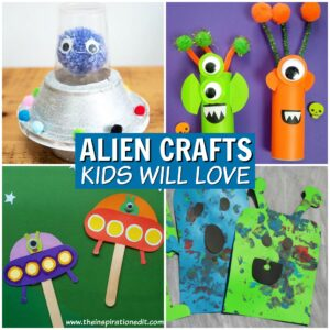 alien crafts for kids