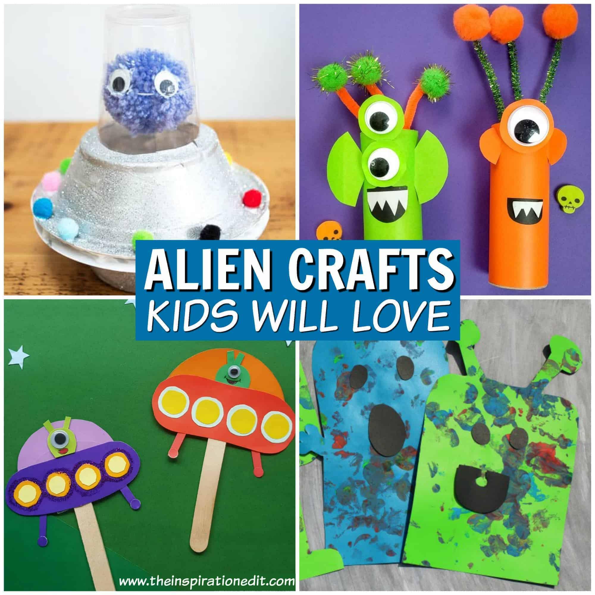 alien crafts for kids