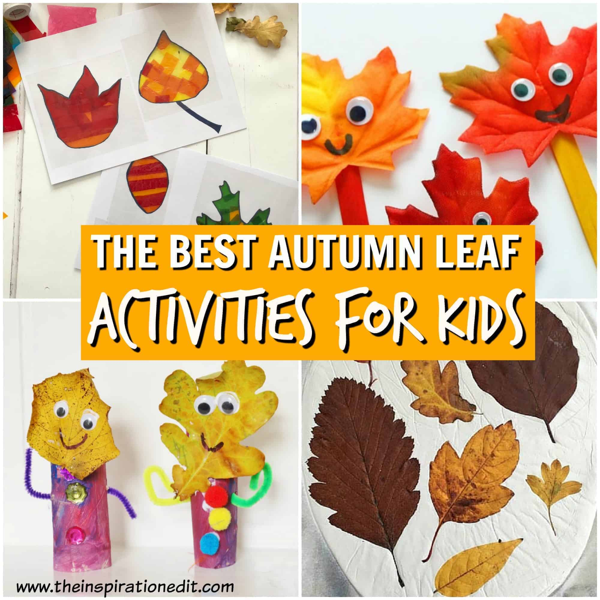 Leaf Autumn Crafts Kids Will Love The Inspiration Edit