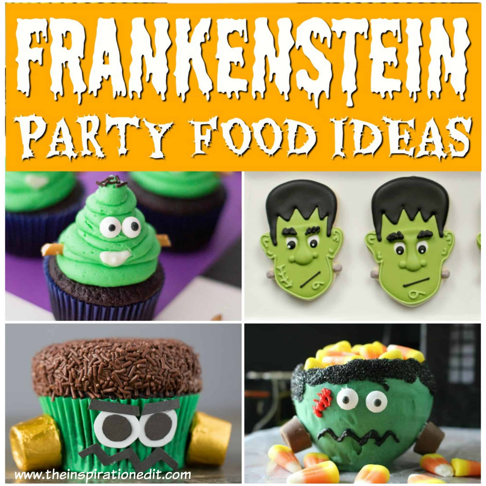 frankenstein party food ideas for halloween party