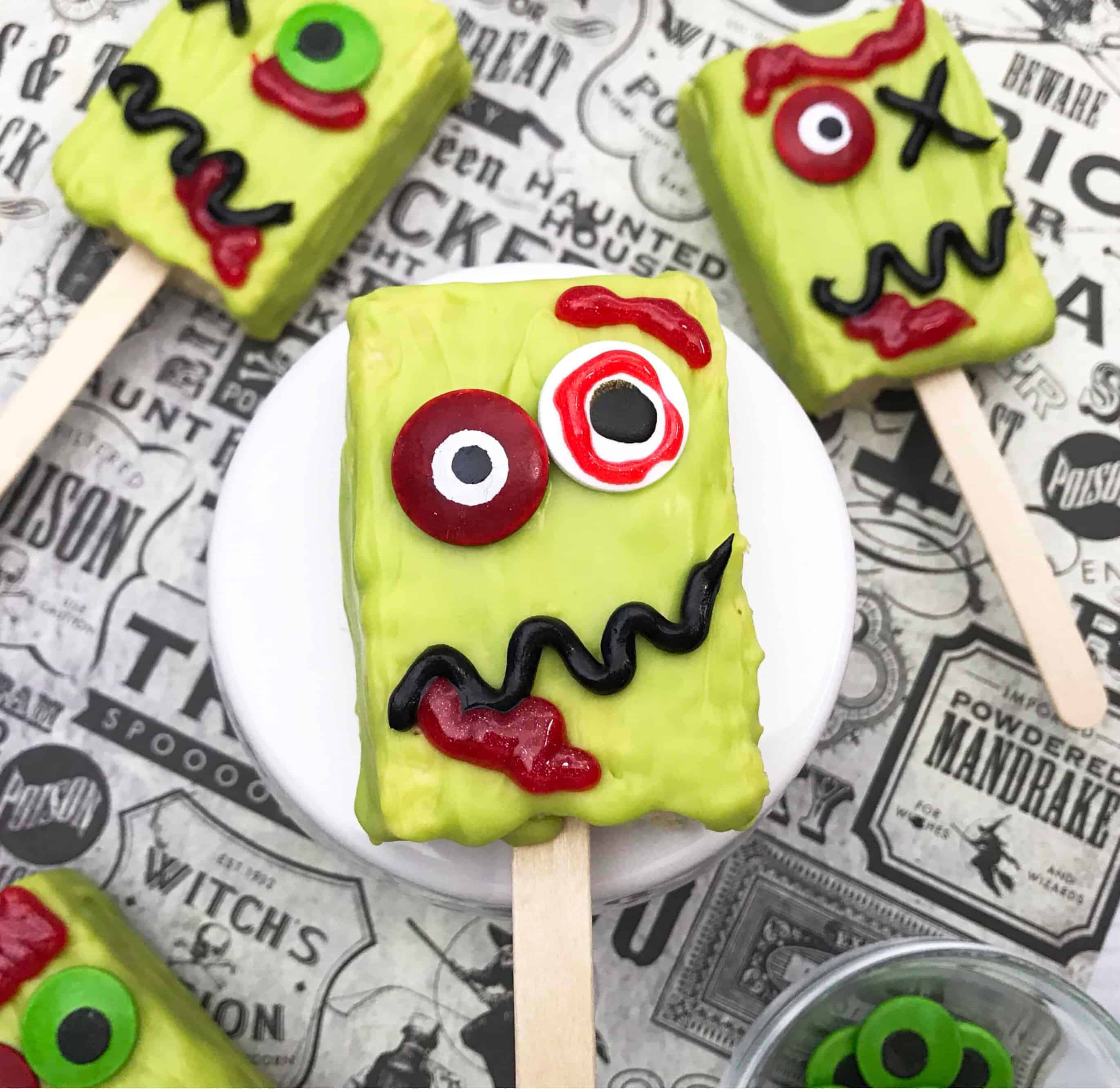 zombie halloween treats
