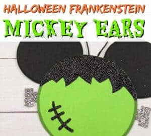 mickey ears frankenstein craft