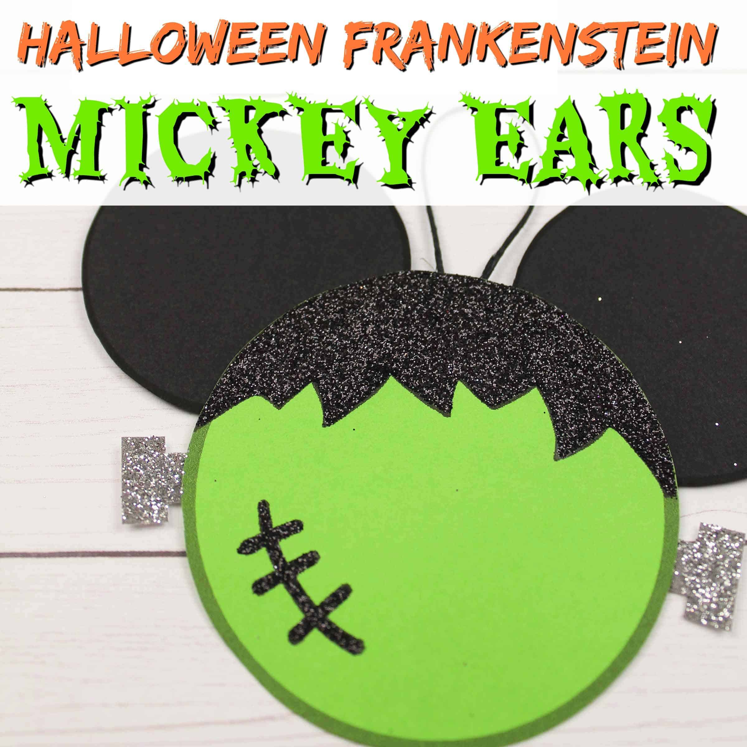 mickey ears frankenstein craft