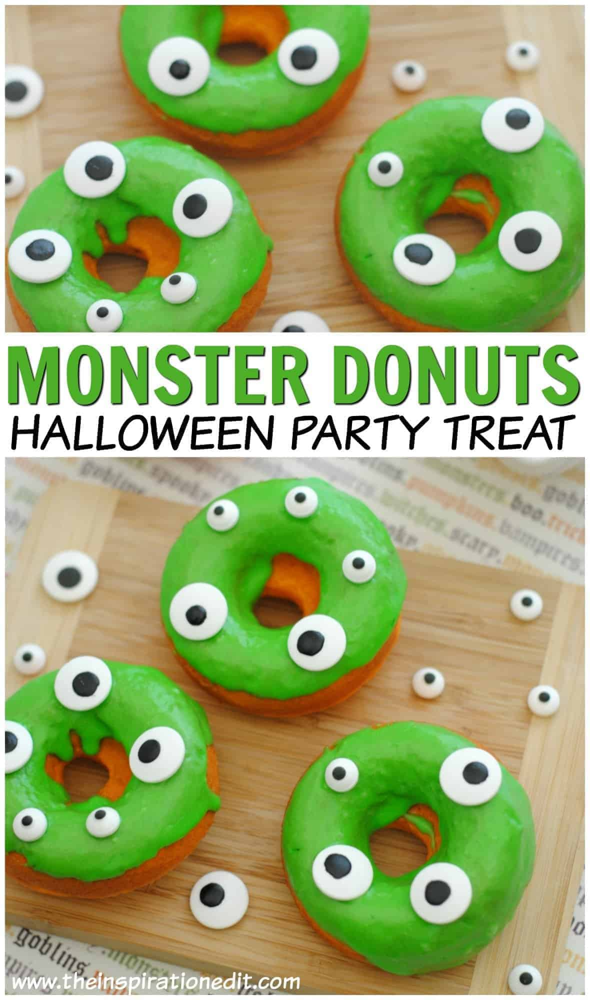 hallloween monster donuts