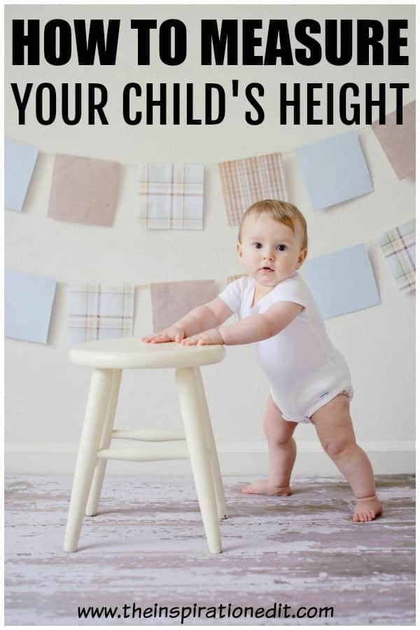how to measure your child's height