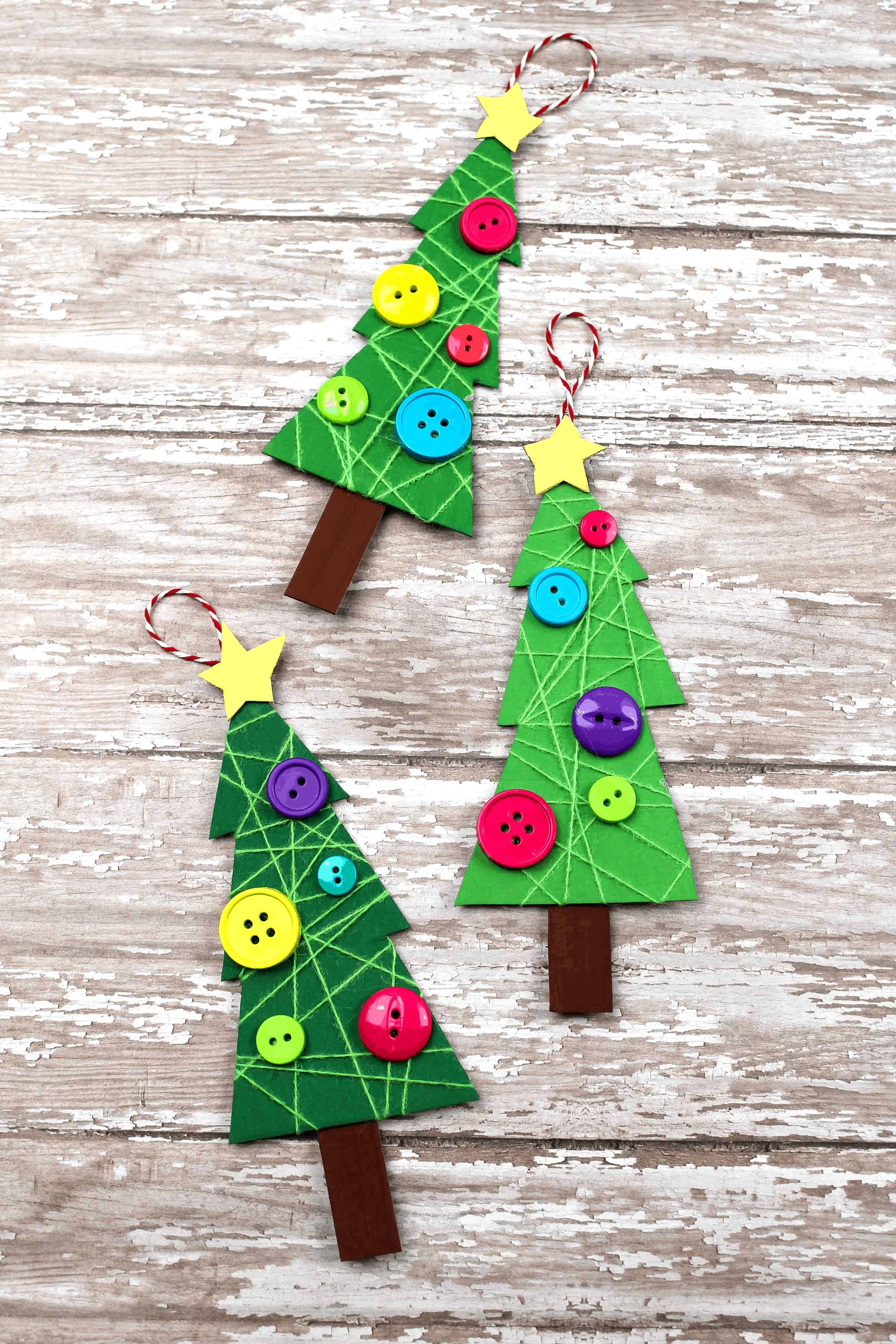 Easy Christmas Tree Craft