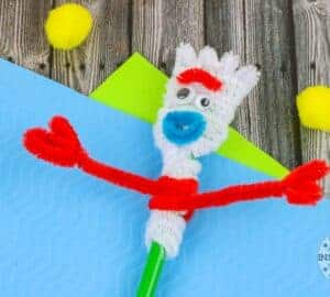 Toy Story 4 Forky Craft
