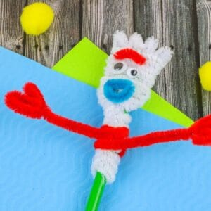 forky toy story craft