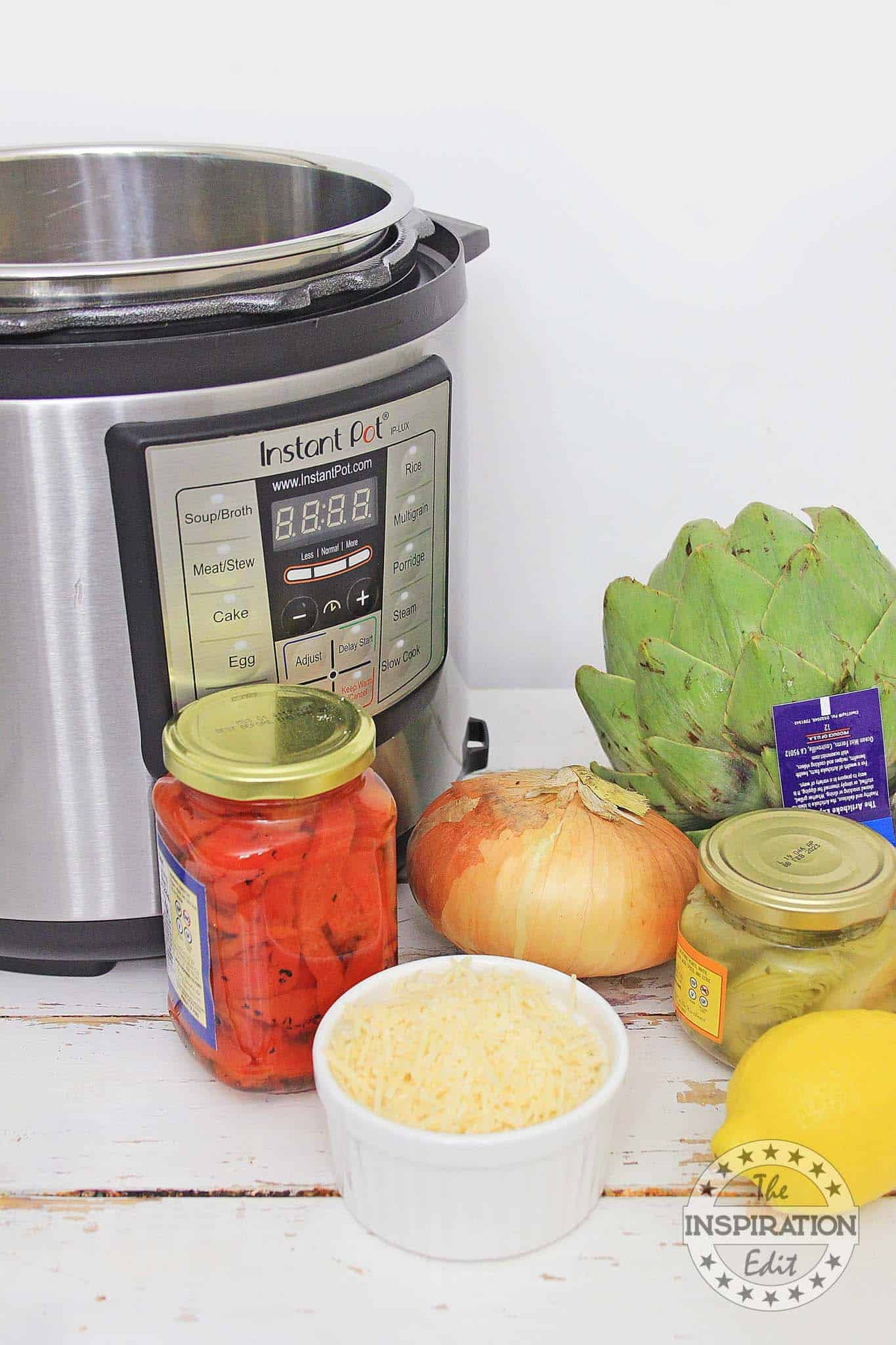 risotto in the instant pot