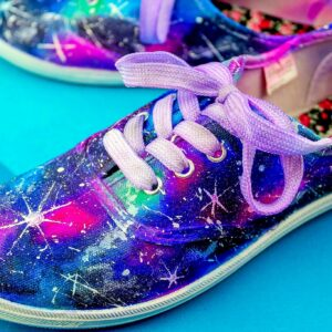 Galaxy Tie Dye Shoes