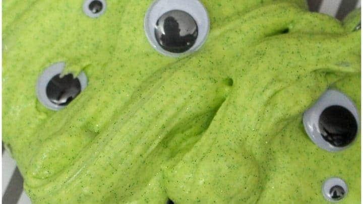 Googly eye slime
