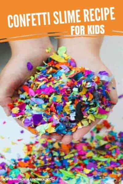 diy confetti slime