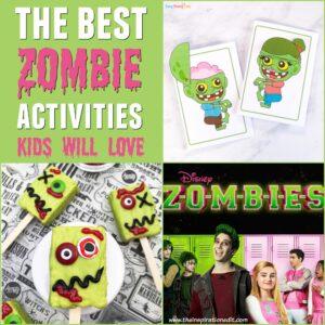 zombie activities for kids