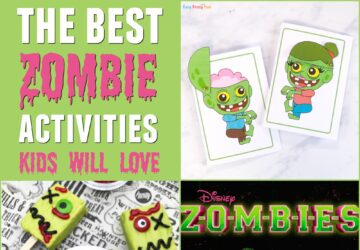 zombie activities for kids