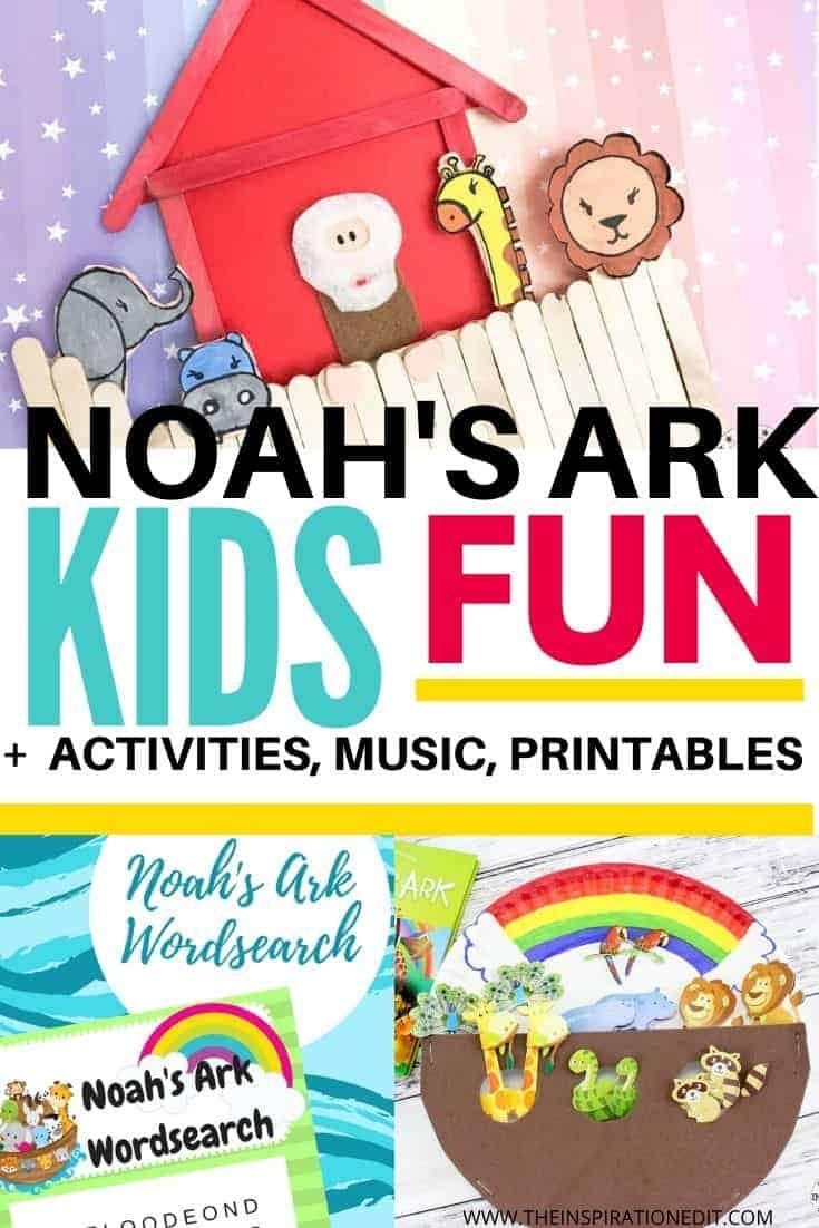 NOAH'S ARK ACTIVITIES FOR KIDS