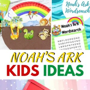 Noah's ark craft ideas