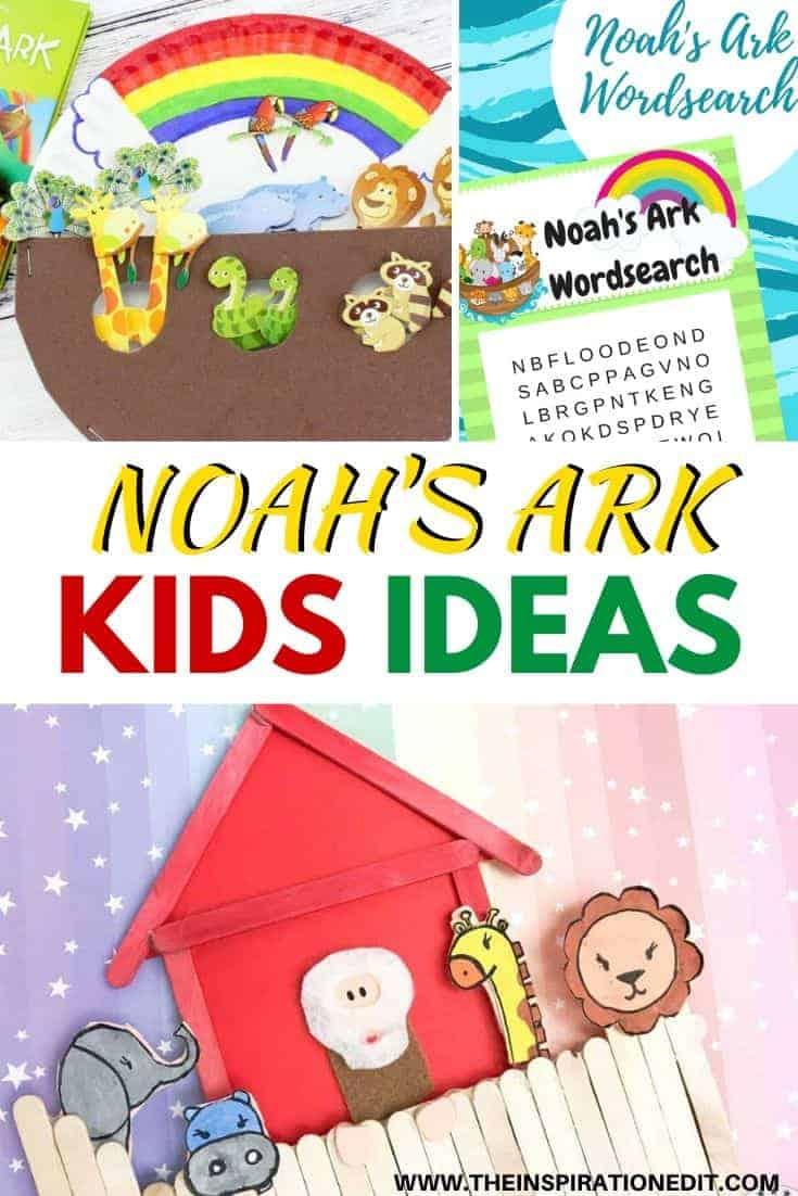 Noah's ark craft ideas