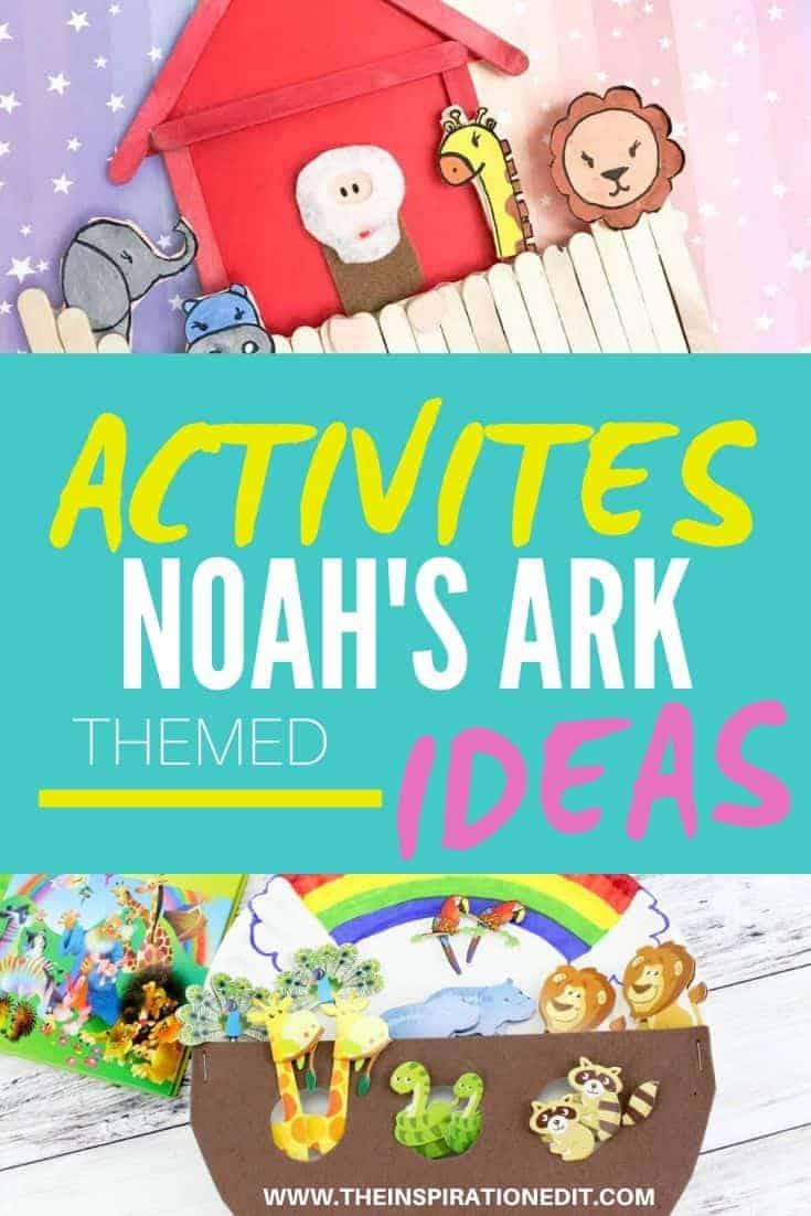 Noah's ark craft ideas and kids activities