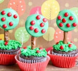 Apple Tree Cupcakes