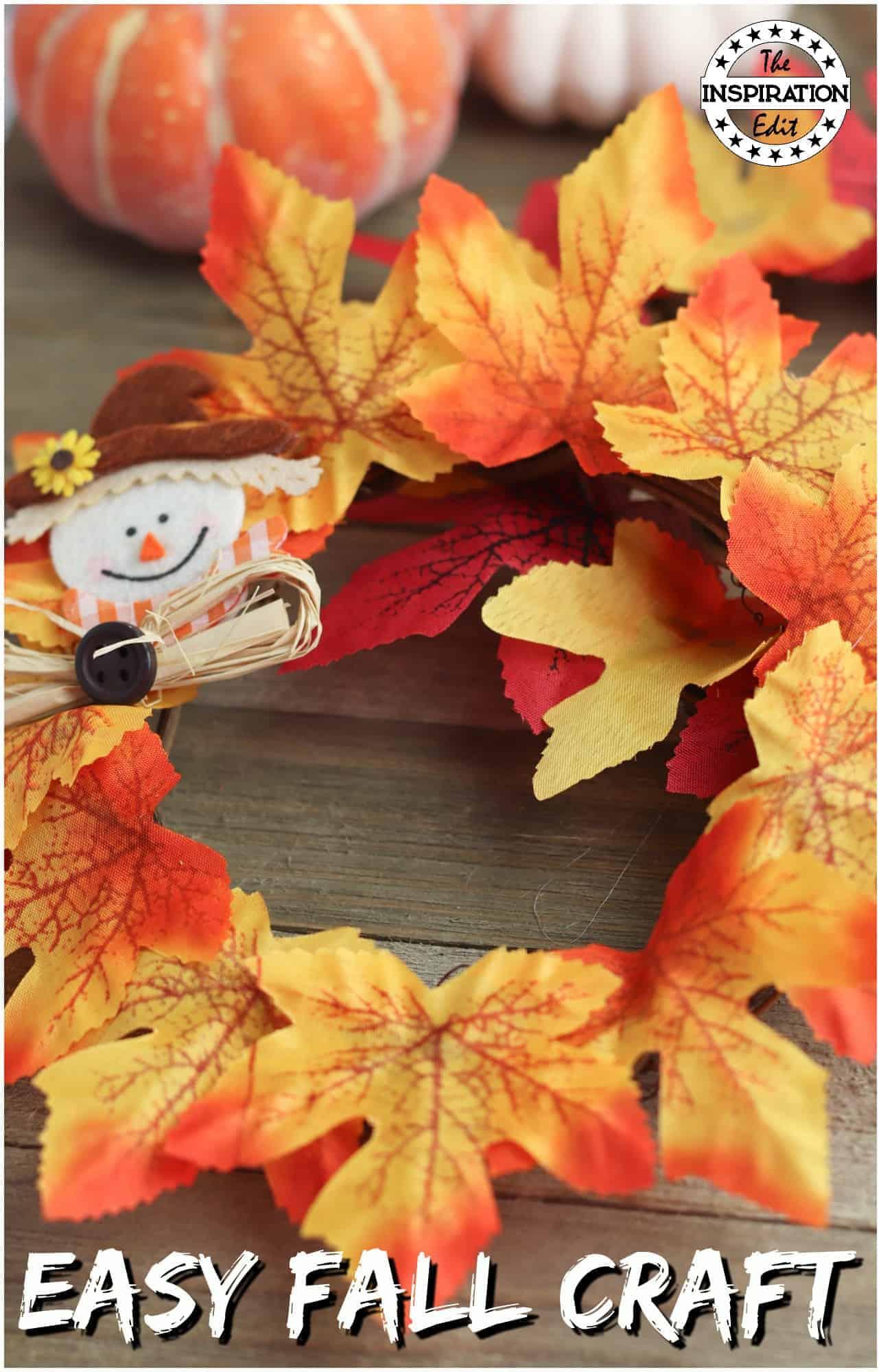 Autumn Wreath Craft