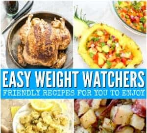 easy weight watchers recipes for beginners