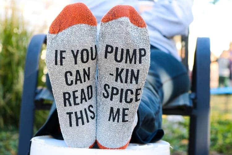 Funny-Saying-Socks-Pumpkin-Spice-Edition