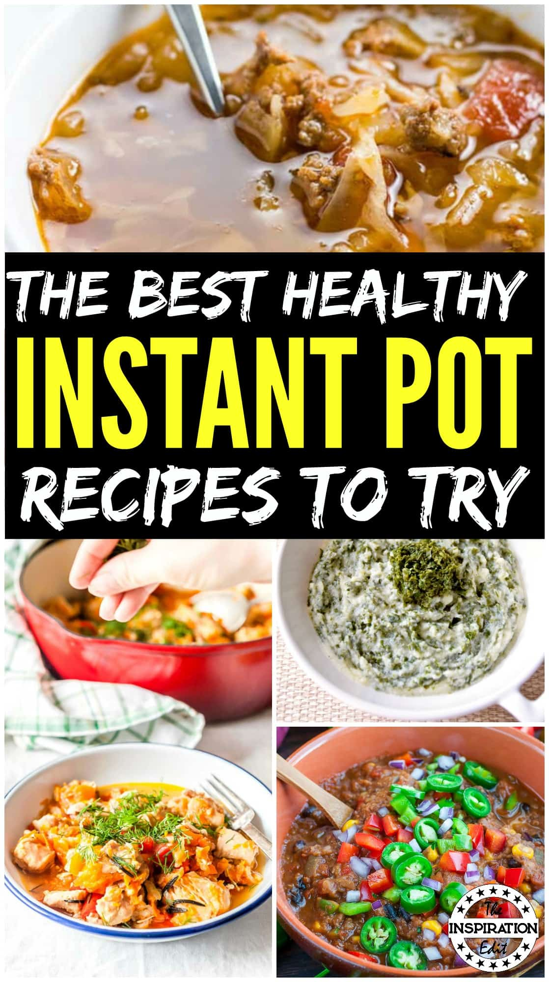 healthy instant pot recipes for the family to enjoy