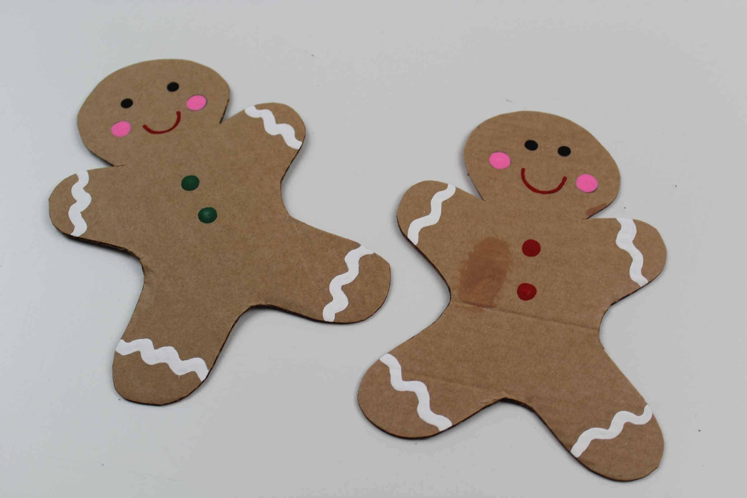 Painted gingerbread men