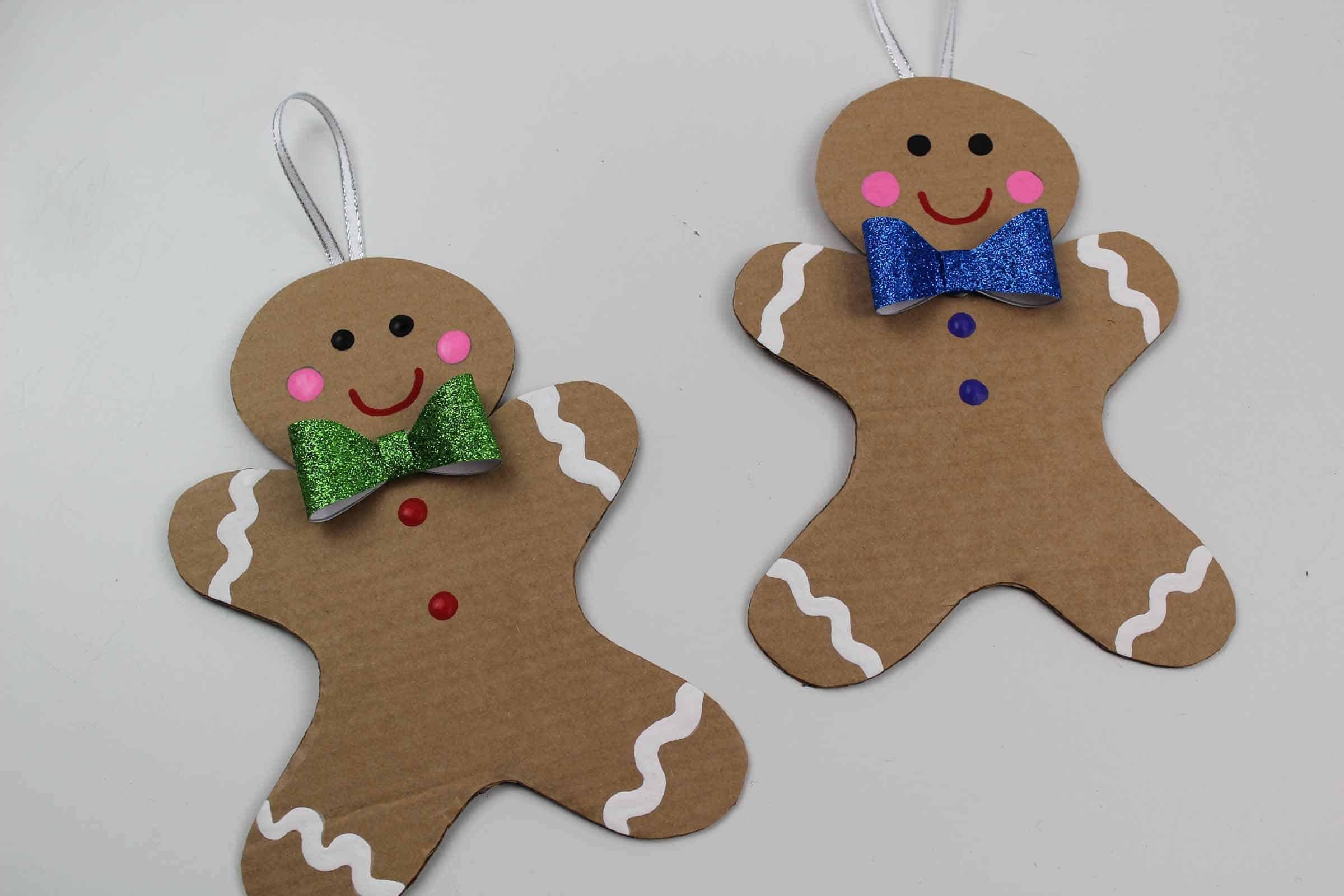 Finished gingerbread man decoration