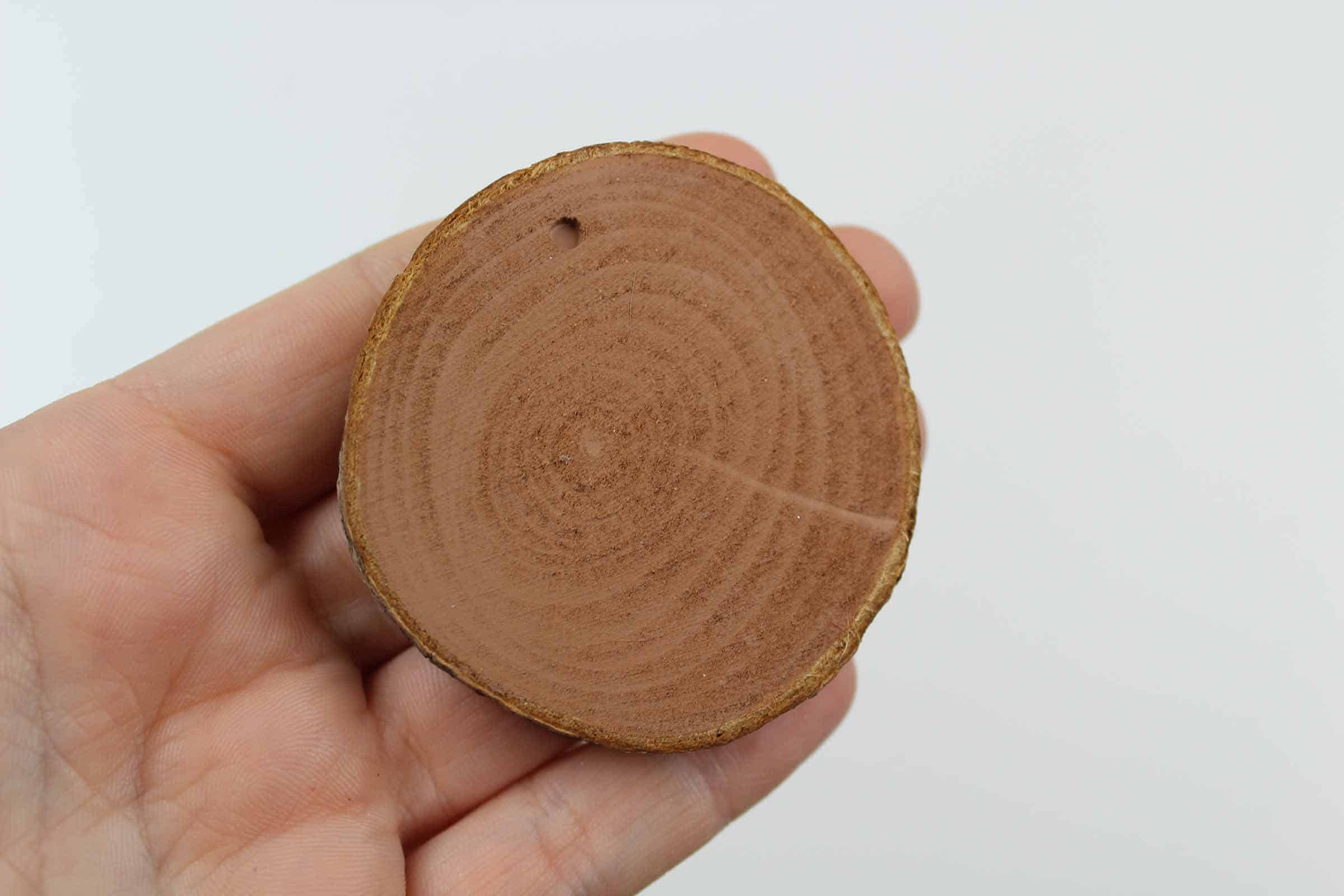 Round piece of Wood