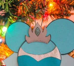 frozen elsa christmas craft